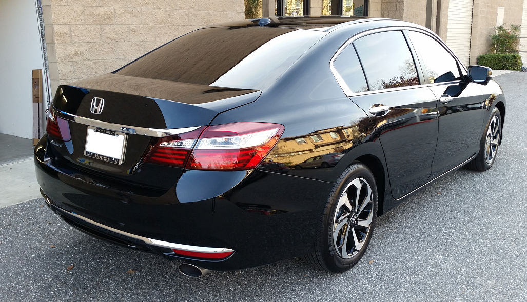 2016 Honda Accord - Cool Comfort Window Tinting