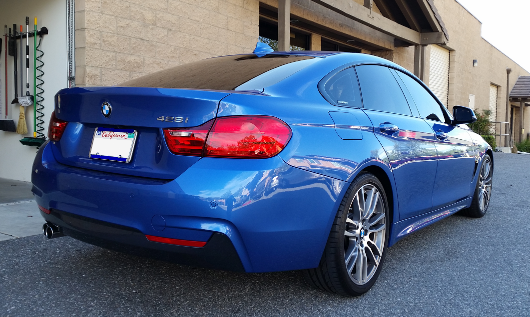 2015 BMW 428i Grand Coupe (3) - Cool Comfort Window Tinting
