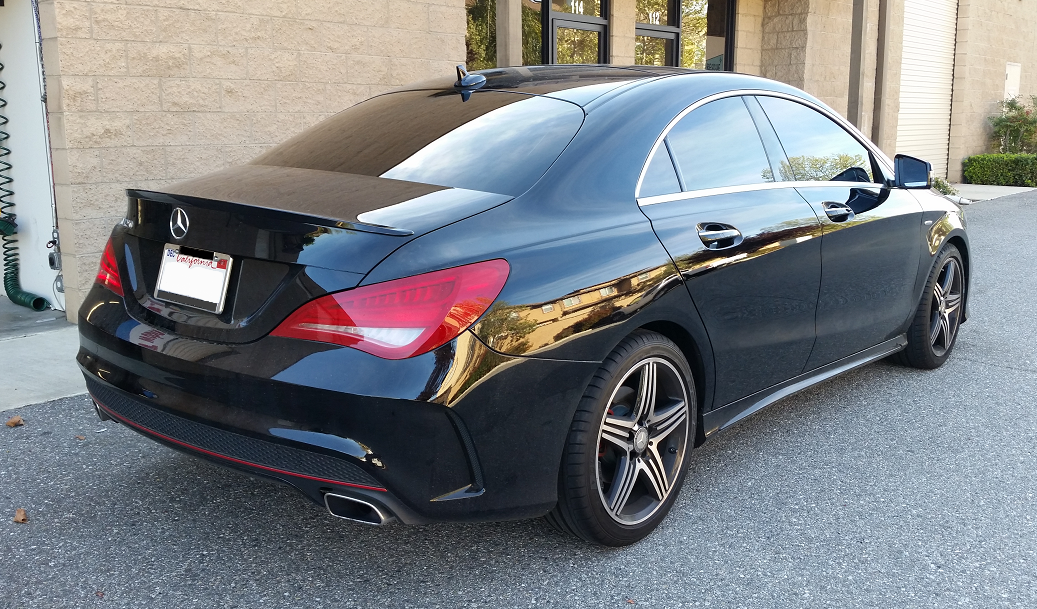 2016 Mercedes CLA (2) - Cool Comfort Window Tinting