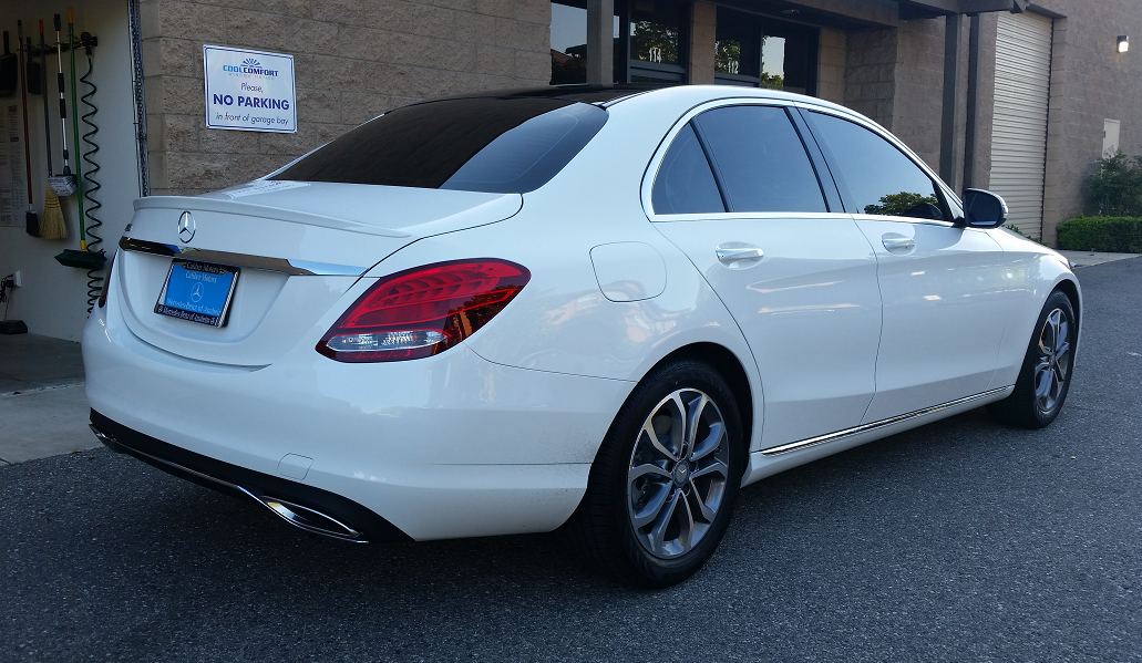Mercedes C300 - Cool Comfort Tinting