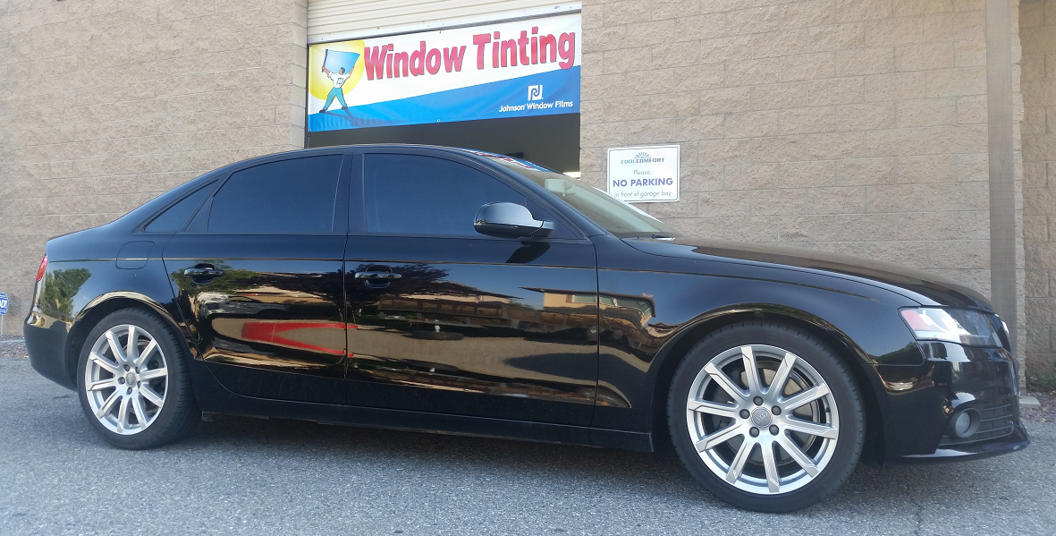 2011 Audi A4 - Cool Comfort Window Tinting