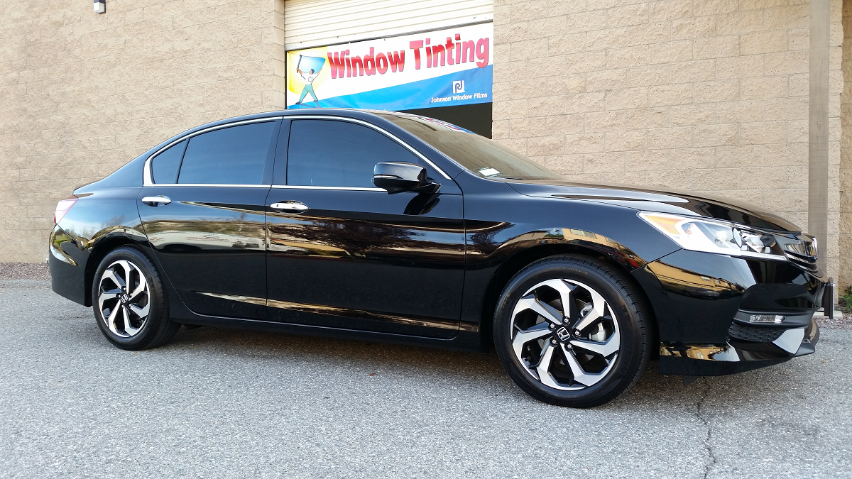 2016 Honda Accord (2)- Cool Comfort Window Tinting