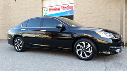 2016 Honda Accord (2)- Cool Comfort Window Tinting