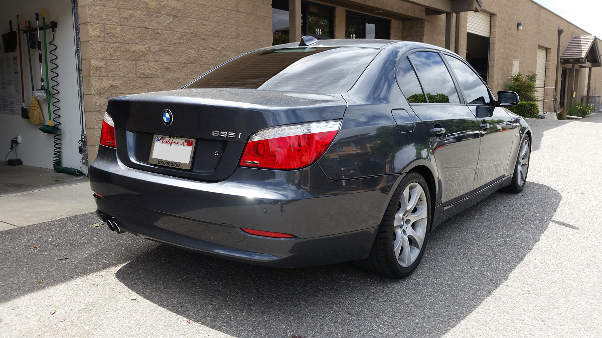 2008 BMW 535i - Cool Comfort Window Tinting