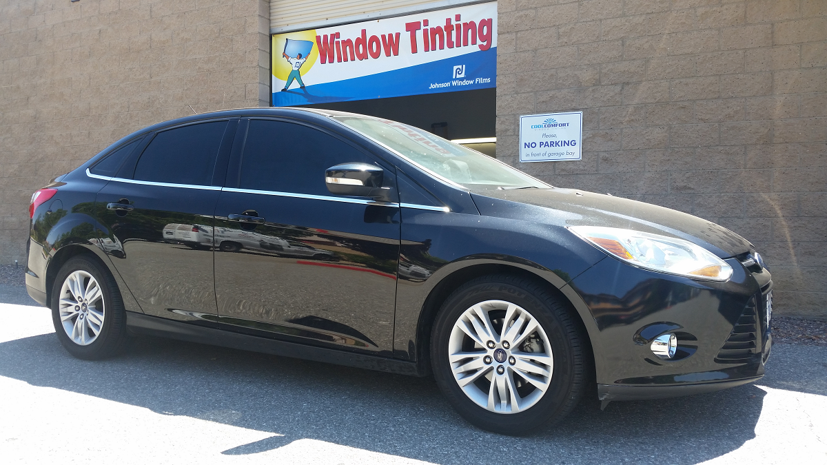 2015 Ford Focus 2 (Black) - Cool Comfort Window Tinting