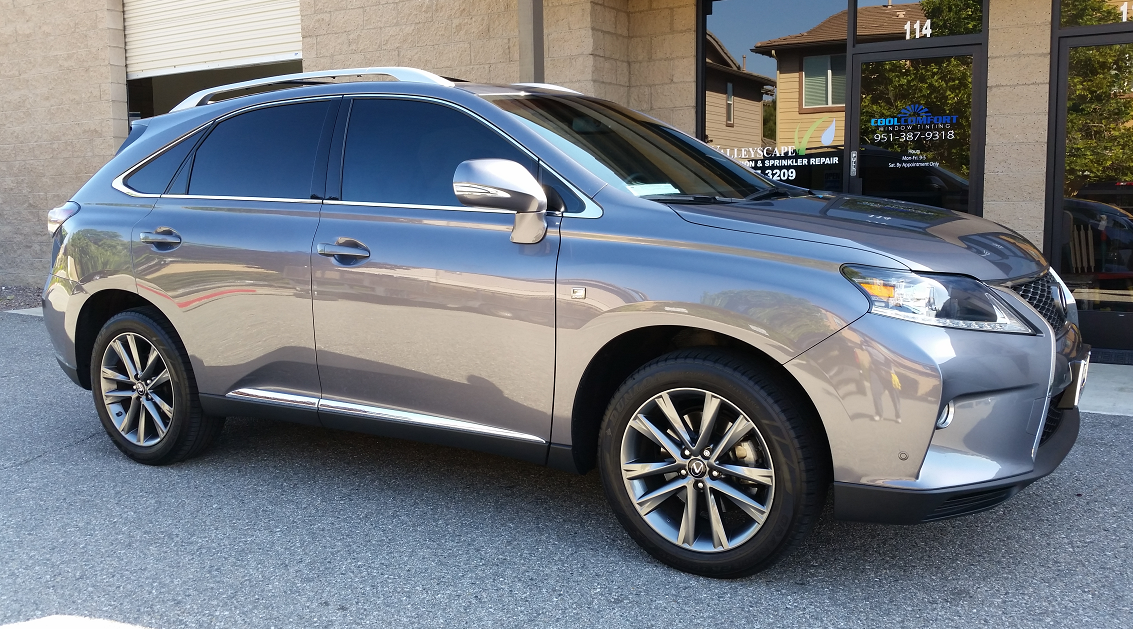 2014 Lexus RX350 - Cool Comfort Window Tinting