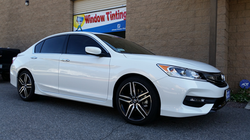 2016 White Honda Accord (2) - Cool Comfort Window Tinting