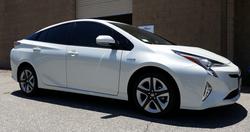 2016 Toyota Prius (White) 2 - Cool Comfort Window Tinting