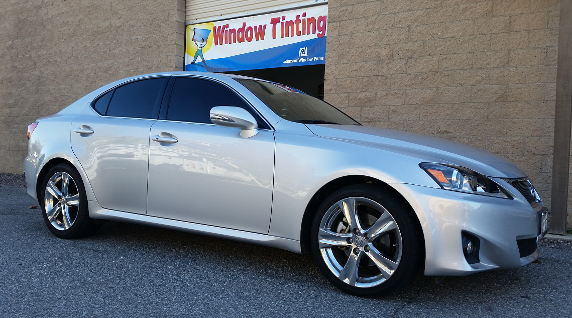 2015 Lexus IS250 (1) - Cool Comfort Window Tinting