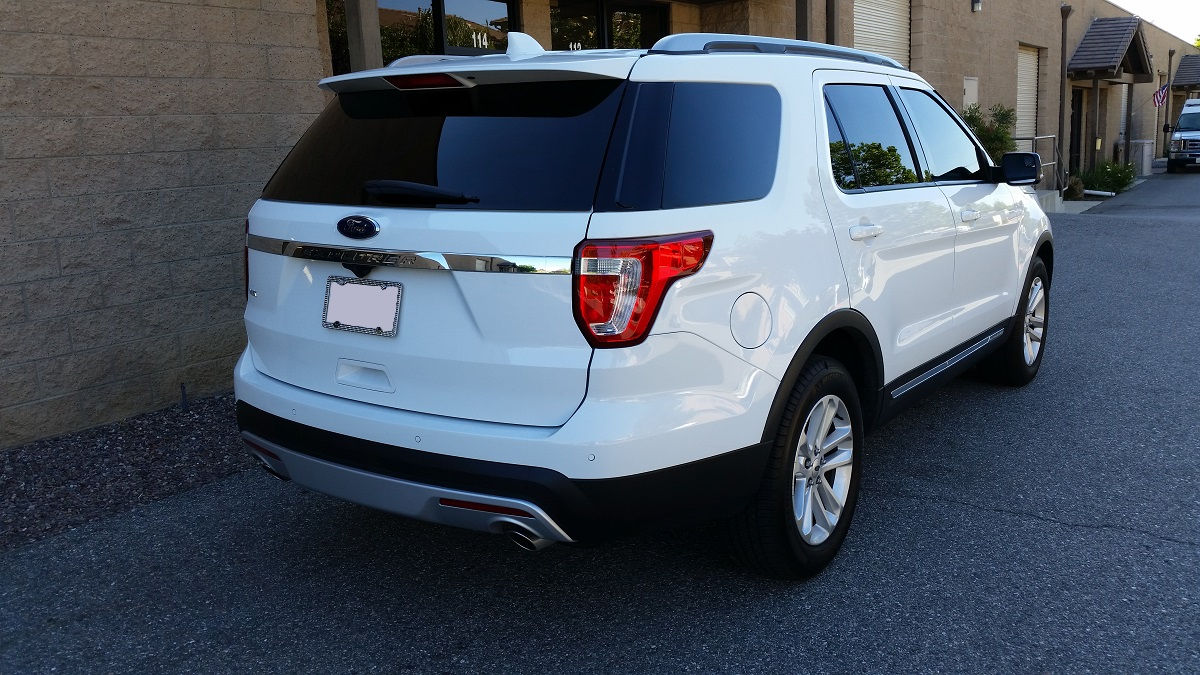 2015 Ford Explorer - Cool Comfort Window Tinting
