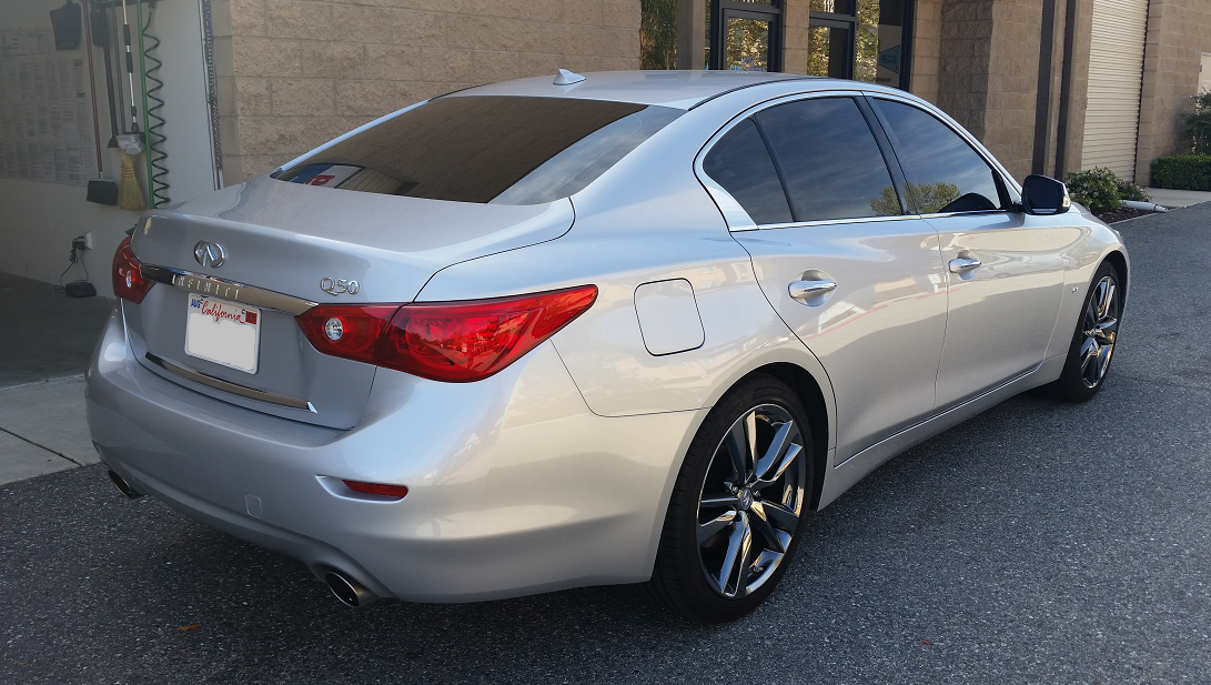 2015 Infiniti Q50 - Cool Comfort Window Tinting