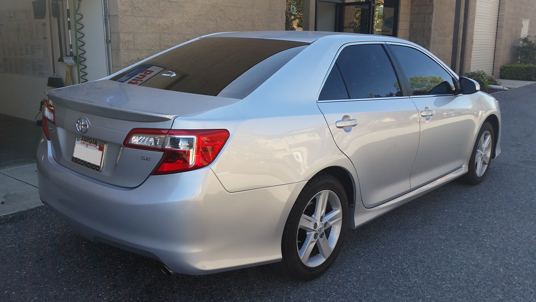 2012 Toyota Camry (2) - Cool Comfort Window Tinting