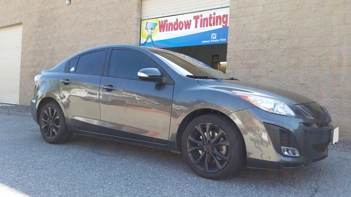 2010 Mazda 3 - Cool Comfort Window Tinting