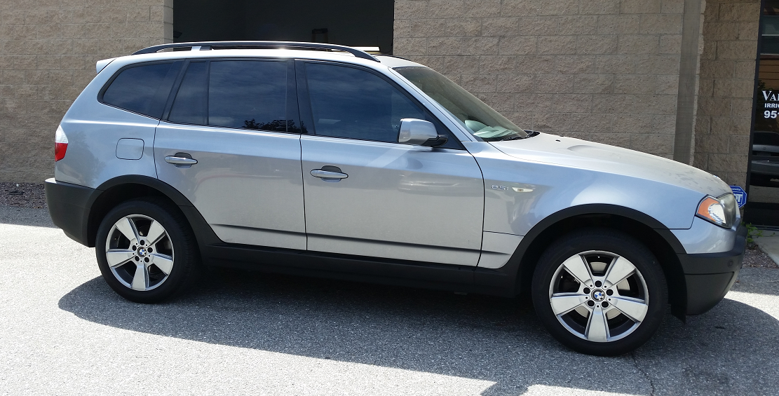 2004 BMW X3 (1) - Cool Comfort Window Tinting