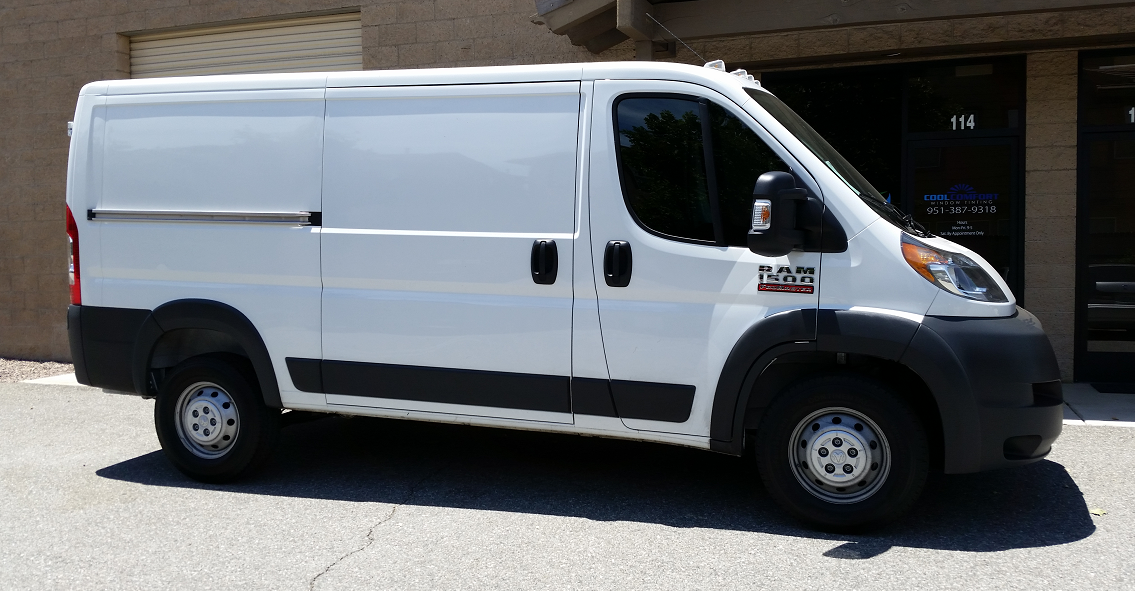 2016 Dodge ProMaster - Cool Comfort Window Tinting