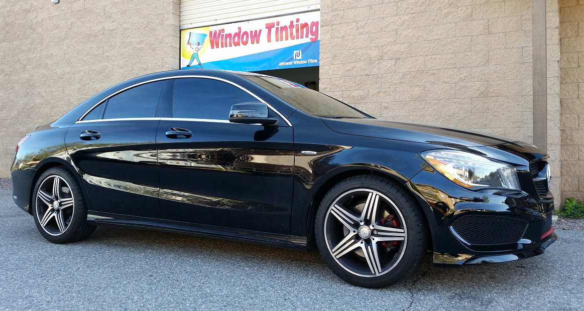 2016 Mercedes CLA (1) - Cool Comfort Window Tinting