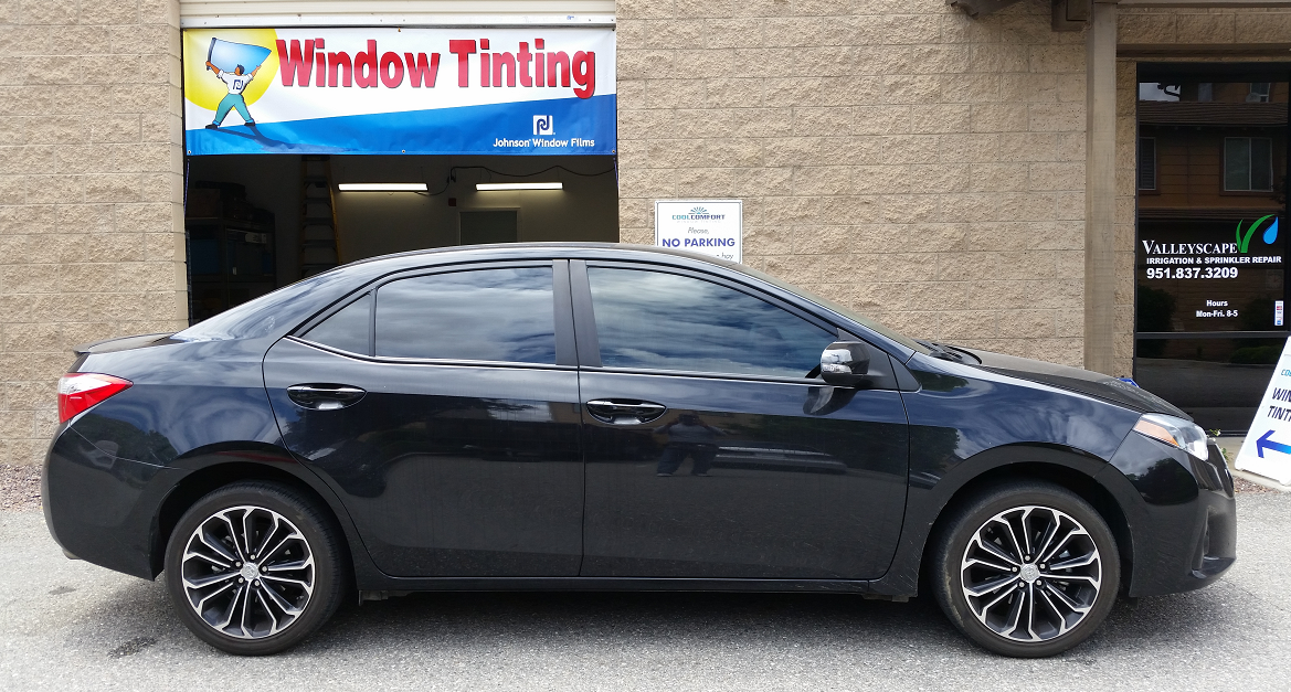 2015 Toyota Corolla (2) - Cool Comfort Window Tinting
