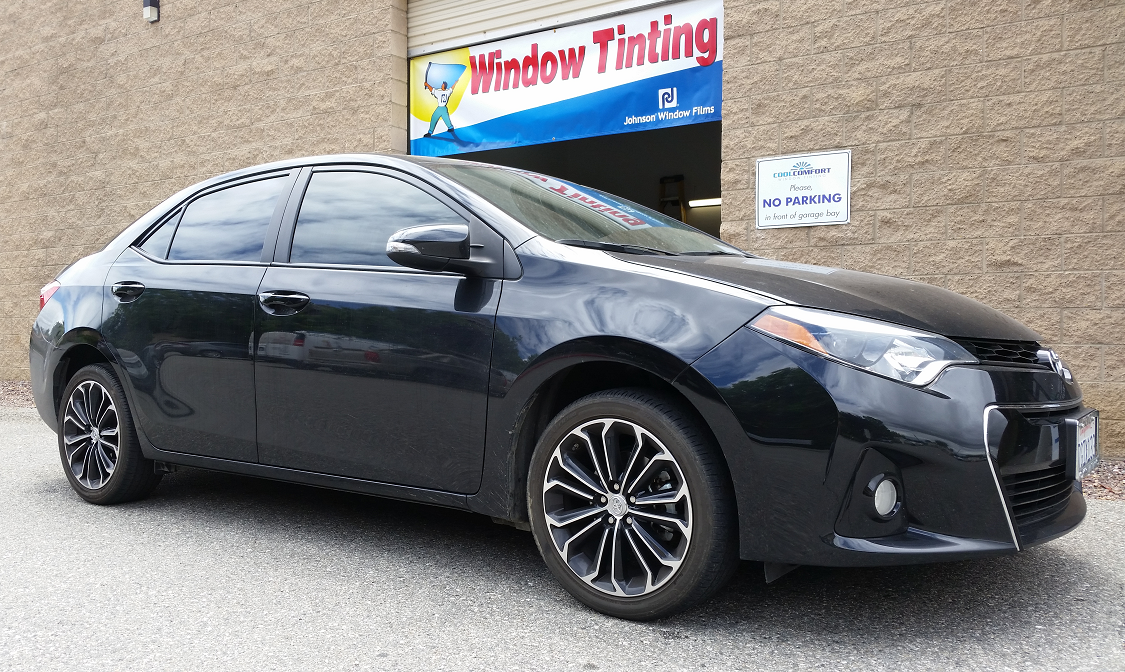 2015 Toyota Corolla - Cool Comfort Window Tinting