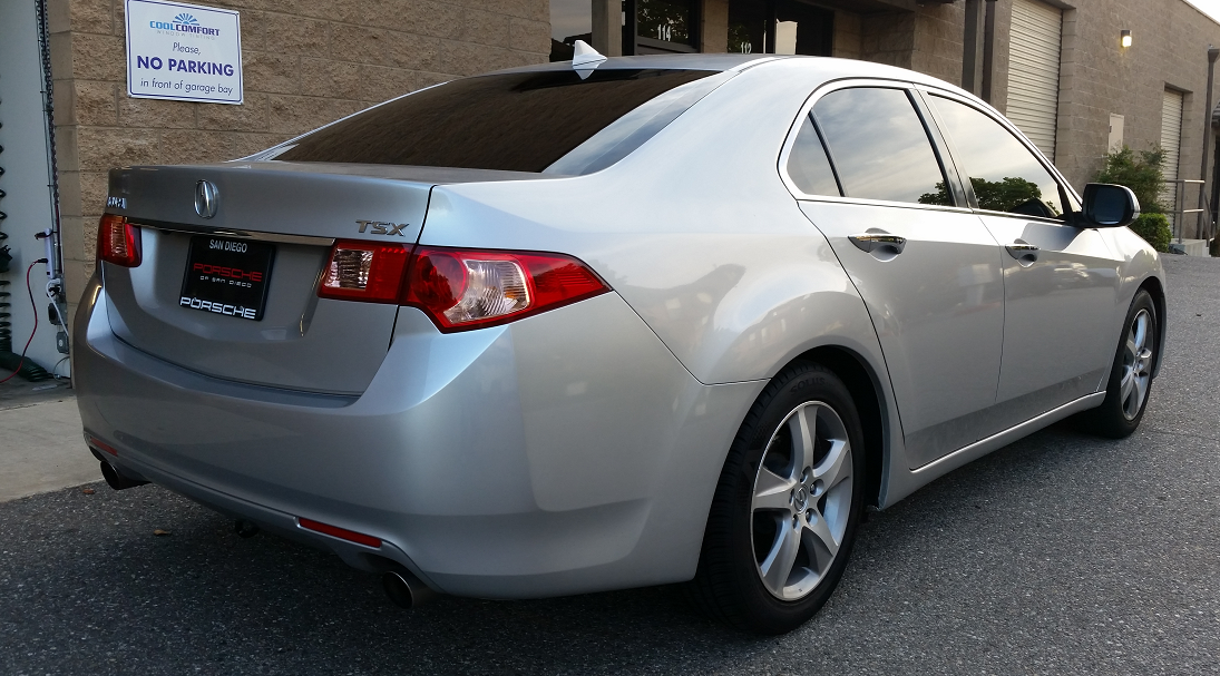 2012 Acura TSX - Cool Comfort Window Tinting