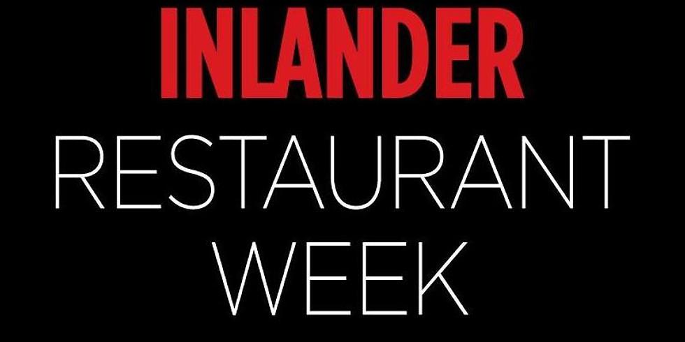 Inlander Restaurant Week
