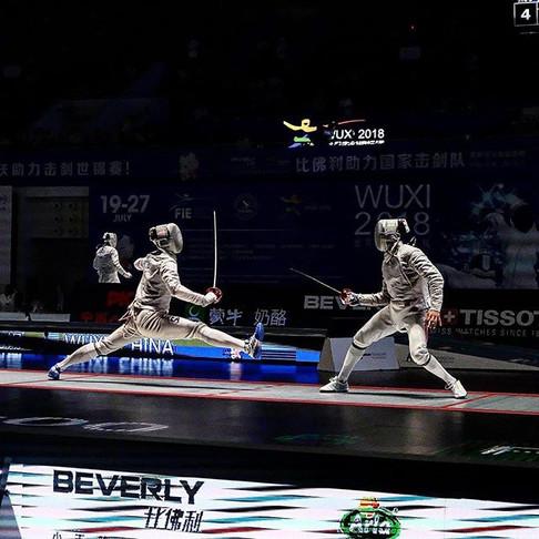Korean footwork is basically just mid-air splits