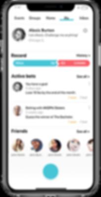 Besst app profile page screenshot