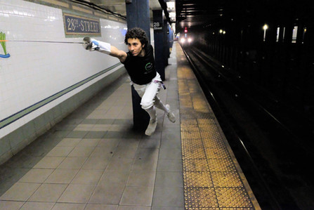 Who is faster: Eli or the subway?