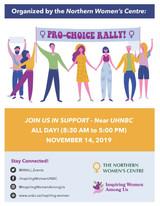 Pro-Choice Rally