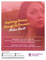 Helen Knott Book Launch & Workshop