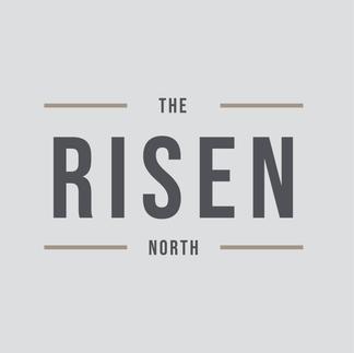 The Risen North Main Logo