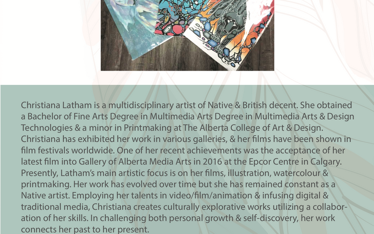 About the Artist Card
