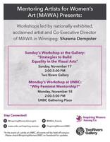 MAWA Workshops