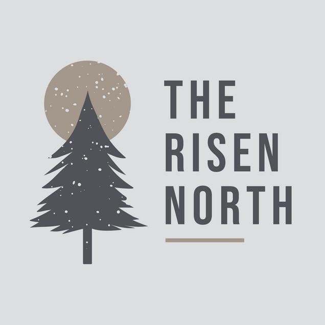 The Risen North Alternate Logo + Tree Design