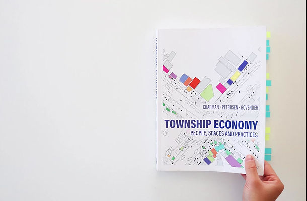 9 years of research, 10 sites, 2 years of production, ±300 drawings,  and finally its here - Township Economy: People, Spaces and Practices. This book is co-authored with Dr Andrew Charman and Dr Leif Peterson of Sustainable Livelihoods Foundation and holds together our deep curiosity into South Africa's most tumultuous, divisive and hopeful of territories. The book reveals with rigorous scientific methods the extra-ordinary urbanity of high streets, shebeens, survivalist business, micro-investments, land appropriation and how these infrastructures are made by an equally complex social life. Special thank you to all our friends, colleagues and collaborators in making this important piece of work come to life at a most crucial junction in the life of cities.