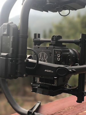 VKNG video production company gear / RED DSMC2 Epic W & Freefly Systems MōVI Pro