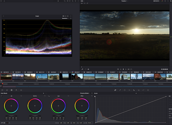 VKNG Video Production Company / Post Production / Blackmagic DaVinci Resolve