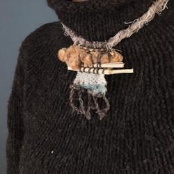 Plain Weave  Necklace