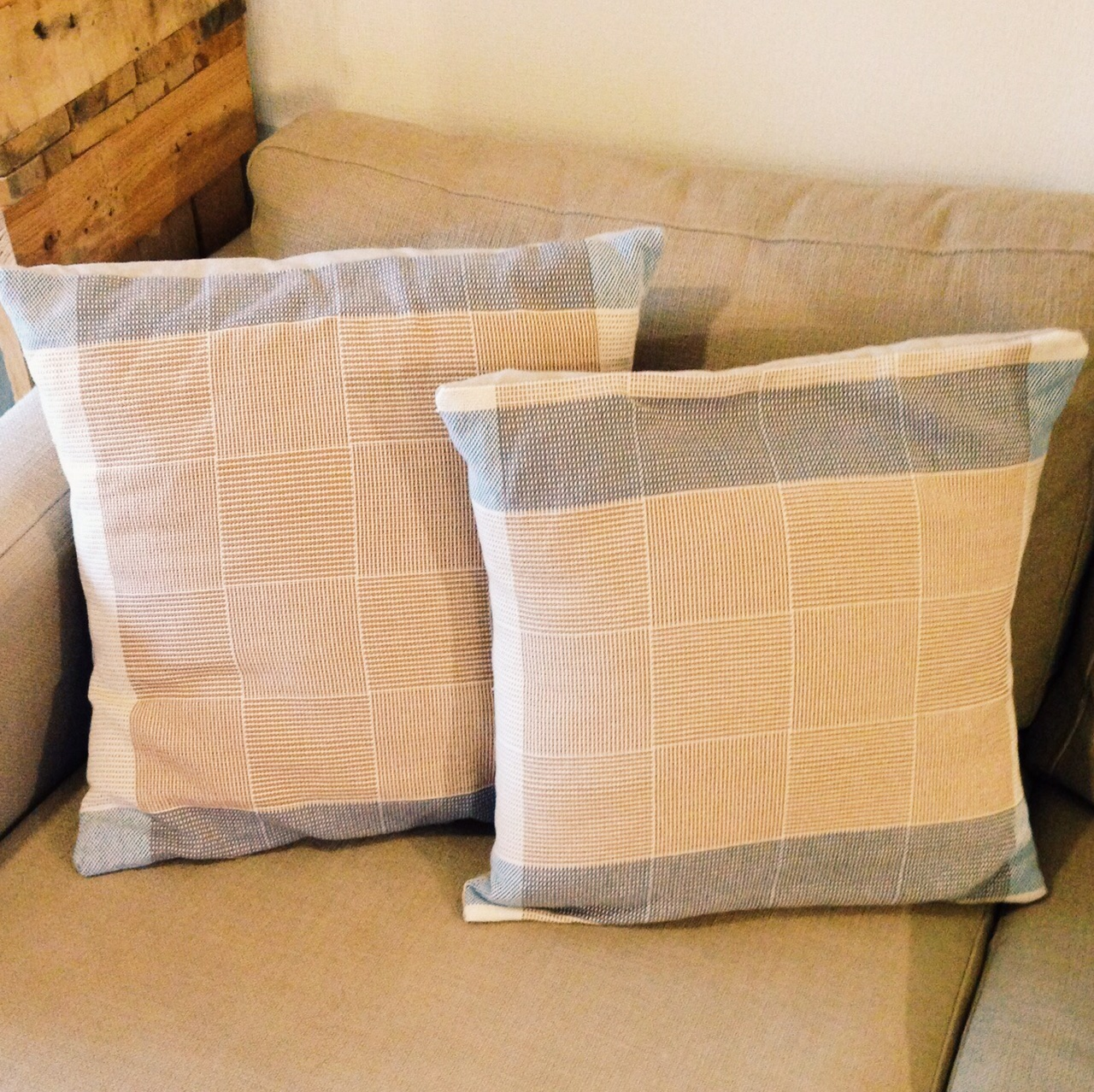 Plain Weave Cushion Cover