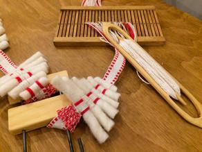 ワークショップ「バンド織りで作るクリスマスオーナメント」