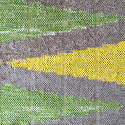 Inlay Weaving Rag Tapestry