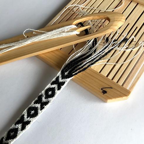 「バンド織りワークショップ ・ピックアップで作る模様織り」 2/2  *満席です