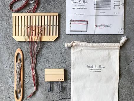 バンド織りの道具などなど。