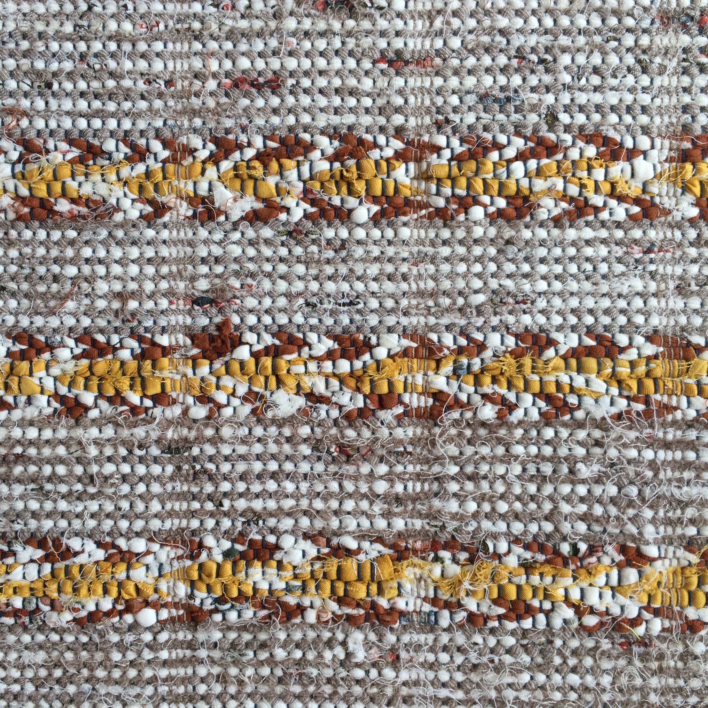 Plain Weaving Rag Tapestry