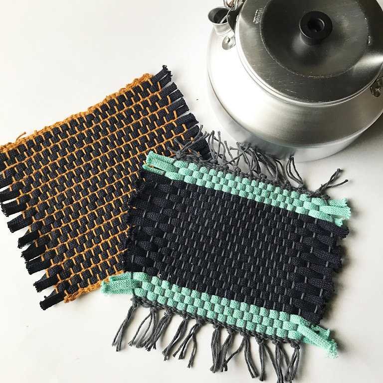 「手織りで作る鍋敷き @ゆる市」 11/10 ② *残り3席です