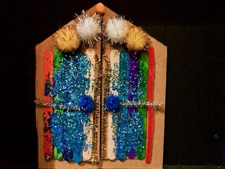 #28 : Une maison pour les lutins et une porte magique ...