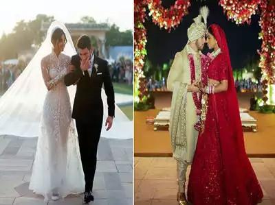 प्रियंका चोपड़ा और निक जोनस की शादी की पहली तस्वीरें और विडियो सामने आ गए हैं।