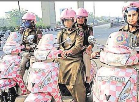 सेफ सिटी लखनऊ: पिंक स्कूटर और एसयूवी से शोहदों पर नजर रखेंगी महिला पुलिसकर्मी