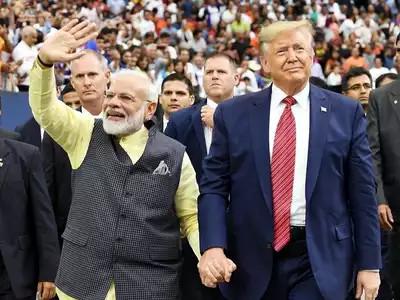 भारत की पहली यात्रा पर आ रहे अमेरिकी राष्ट्रपति डॉनल्ड ट्रंप 'केम छो' कहते नजर आएंगे