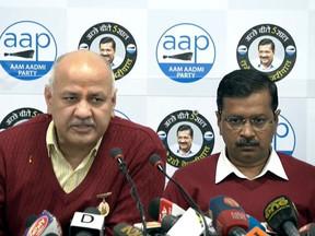 दिल्ली चुनाव: AAP ने जारी किया अपना चुनावी घोषणा पत्र