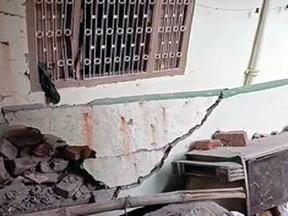 बिहार की राजधानी पटना में बम धमाका